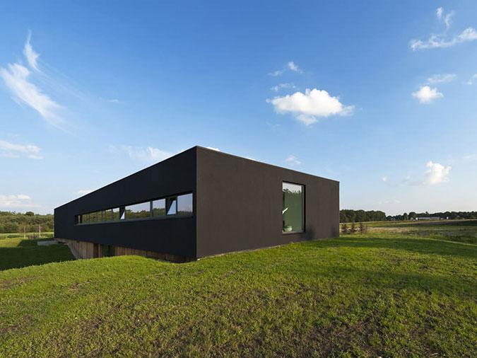 Jednoduché a čisté tvary, kvalitní materiály – to jsou ty správné ingredience pro funkcionalistický dům.