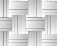 Vzor pokládky parketových podlah tzv do průpletu