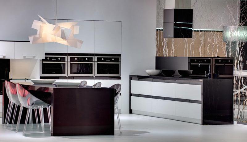 přírodní kámen v moderní kuchyni