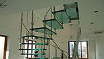 reference stavební firmy - stavba schodiště