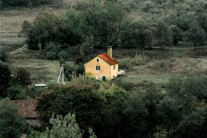 Investorům učarovala poloha domu v zeleni.