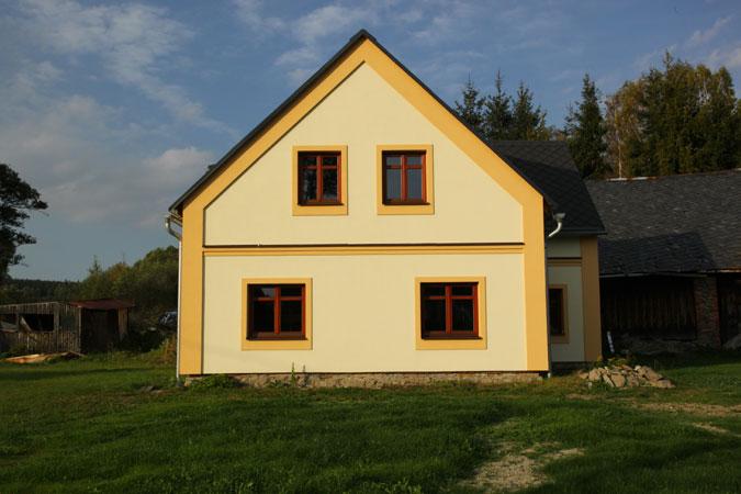 Rekonstrukce domu vrátila jeho původní tvář.