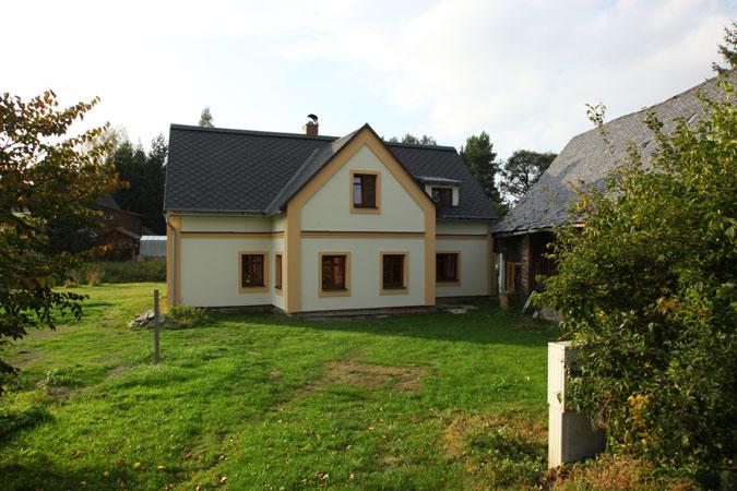 Rekonstrukce domu - zvýšení komfortu bydlení