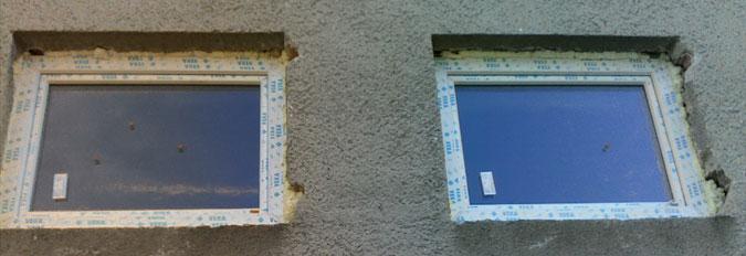Smyslem rekonstrukce bylo snížení energetické náročnosti budovy, proto se musela vyměnit stará okna.
