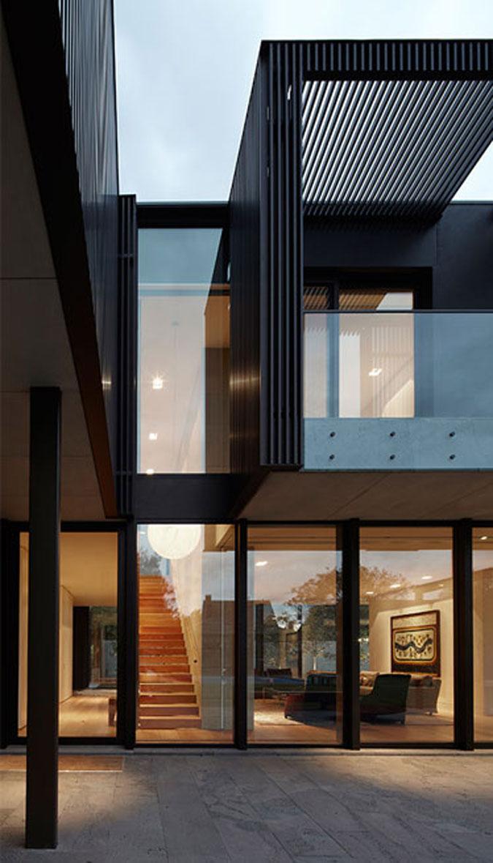 moderní architektura - luxusní rezidence