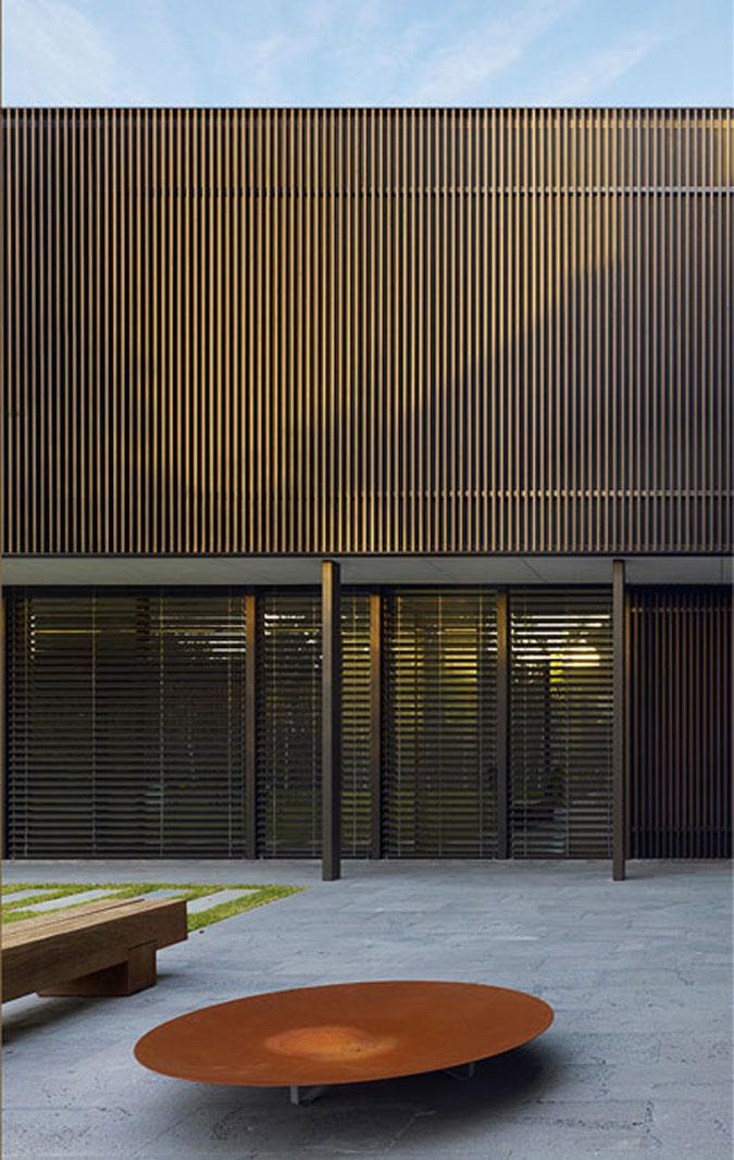 rafinované prvky fasády