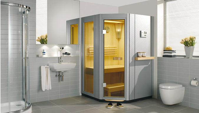 Sauna řady SA od Vellroy & Boch