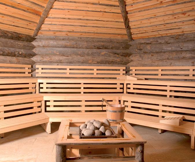 Srubová sauna má své neopakovatelné kouzlo.