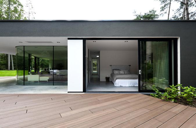 Luxus interiéru v tomto případě spočívá především v individualitě.
