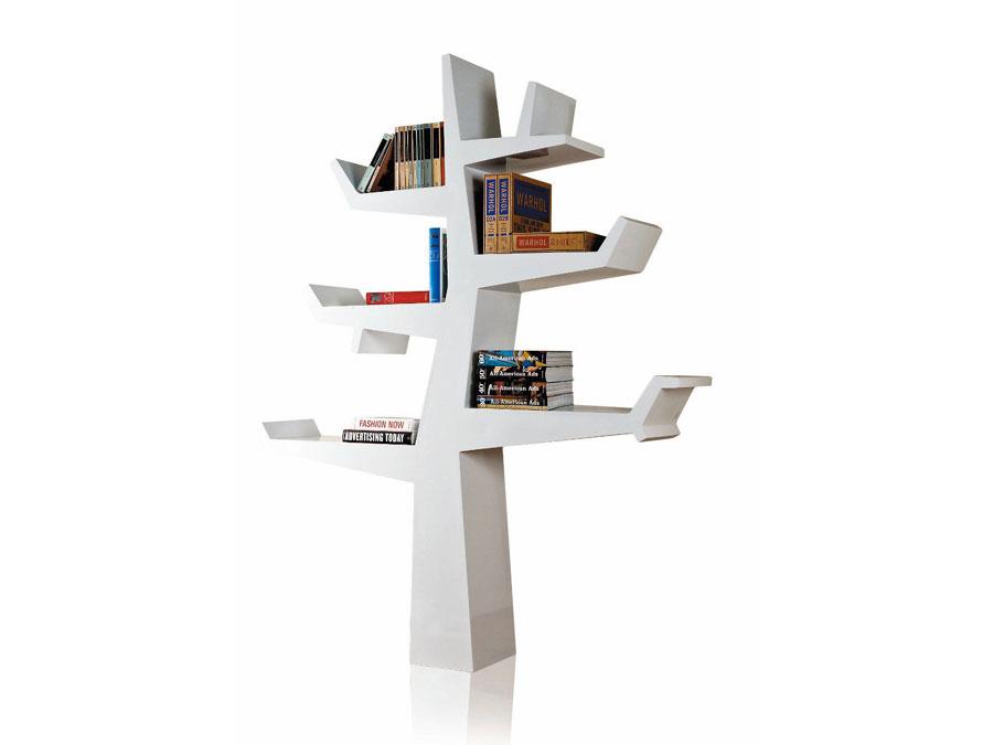 Wintertree - designova knihovna od studia Twentyfirst